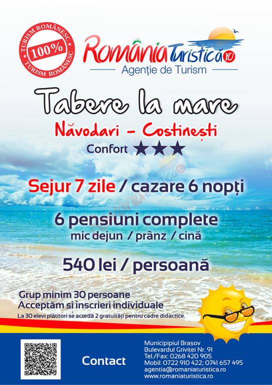 CONSTANȚA Tabara de Vara la Mare-Costinesti, 2018