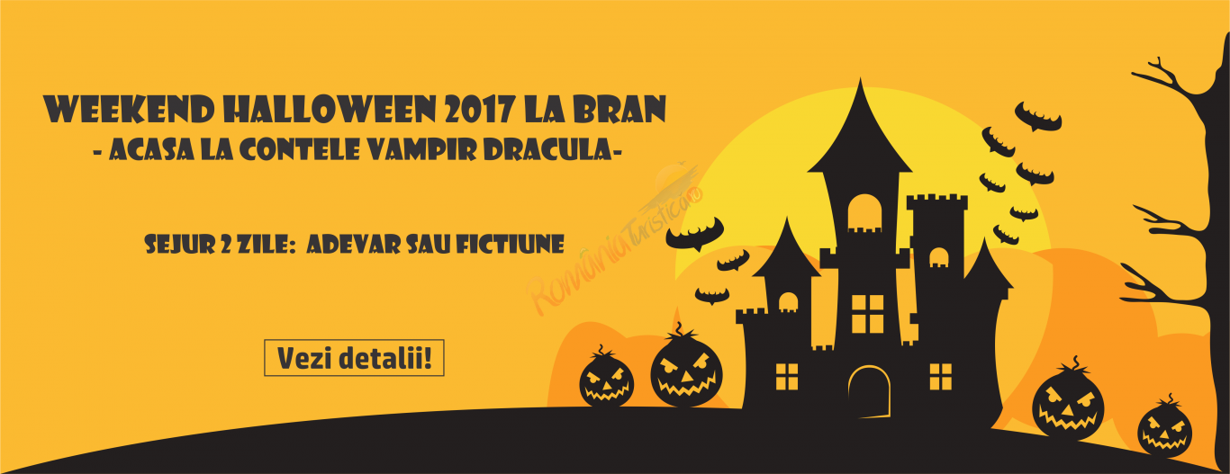 BRASOV Weekend Halloween Bran - 2017