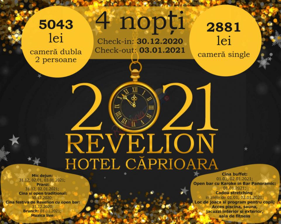 COVASNA Revelion 2021 la Covasna - Hotel Caprioara