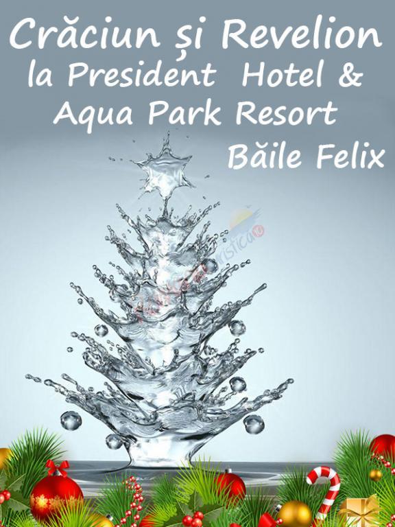 BIHOR Revelion 2021  Baile Felix - Hotel Aqua President