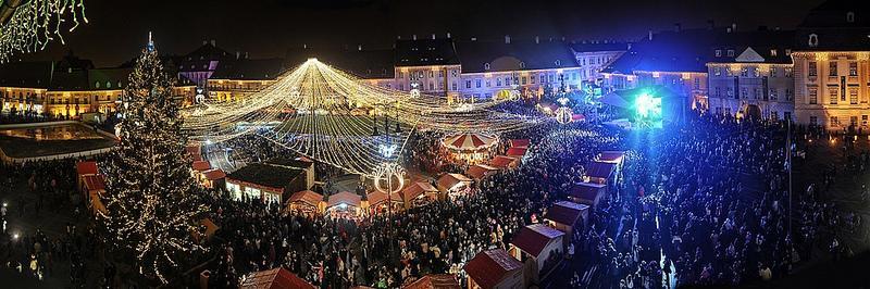 SIBIU City Break Targul De Craciun din Sibiu