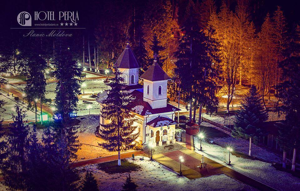 BACAU Craciun 2020 Slanic Moldova -  Hotel Perla