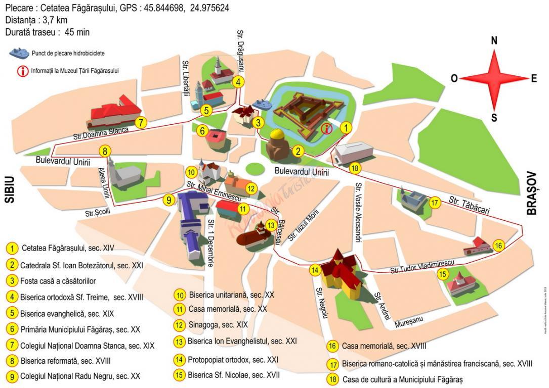 Viziteaza Sighisoara Obiective Turistice Si Istoric Trasee De