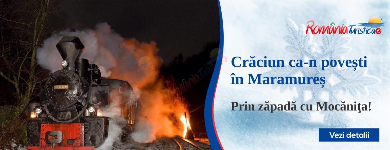 MARAMURES Craciun in Maramures - Prin zapada cu Mocanita Viseu de Sus