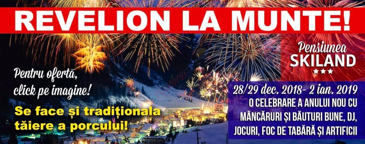 CLUJ REVELION 2019 la Baisoara