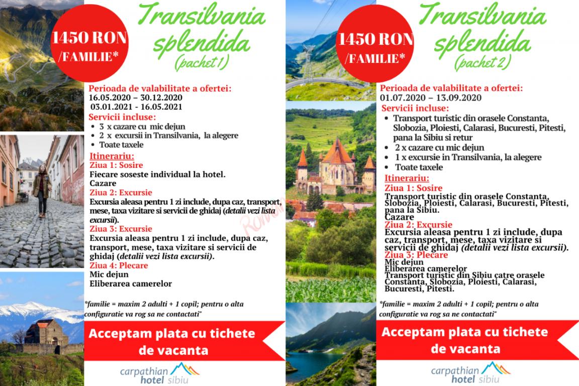 SIBIU Transilvania Splendida 2020