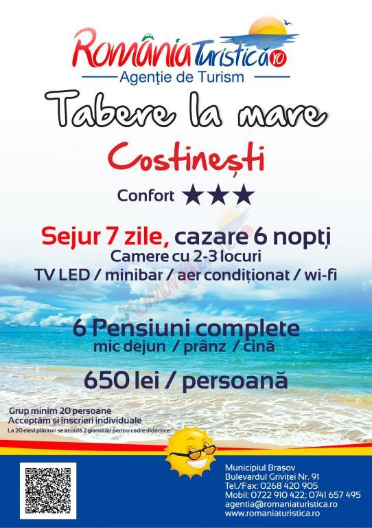 CONSTANȚA Tabara de Vara la Mare - Costinesti, 2020